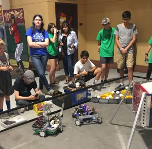 enigma-team-isatopes-stem-day-driving-robots