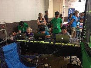 enigma-team-stemday-teaching-coding