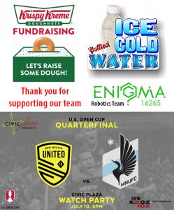 fundraiserenigma-team-united-watch-party-water-krispy-kreme